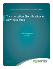 Transportation Electrification in New York State - nyserda - New ...