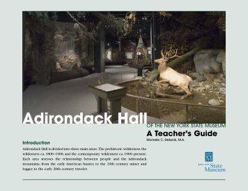 Adirondack Hall - New York State Museum