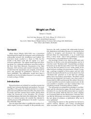 Wright on Fish - Guelph Ichthyology Reviews