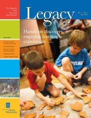 Hands-on discovery, engaging learning - New York State Museum