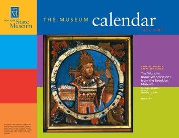 Calendar - New York State Museum