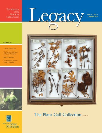 The Plant Gall Collection pagE 14 - New York State Museum