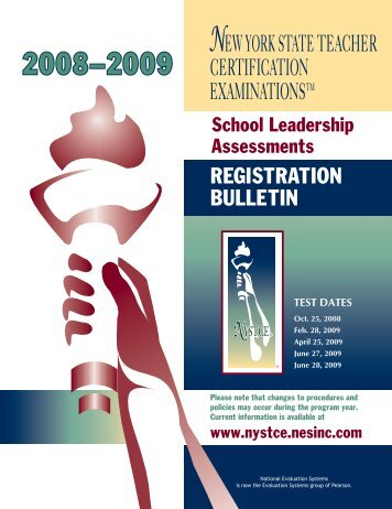 Literacy - New York State Teacher Certification Examinations Home ...