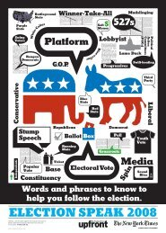 Election Vocabulary Graphic - The New York Times