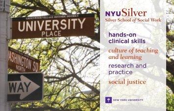 social justice - New York University