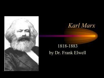 Karl Marx - Faculty.rsu.edu