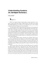 Understanding Kundera: An Abridged Dictionary - New York University