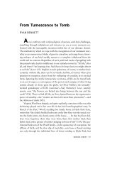 From Tumescence to Tomb - New York University