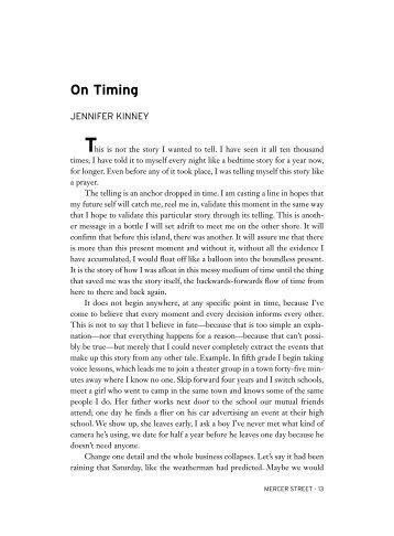 On Timing - New York University