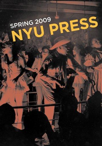 Spring 2009 - NYU Press