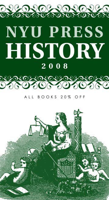 nyu press history 2008 - New York University Press