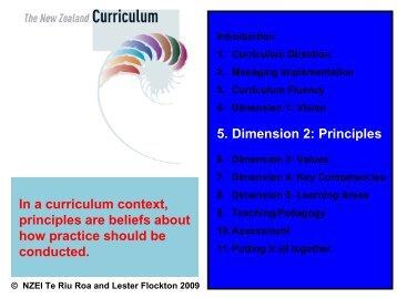 Principles - NZEI