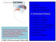 3. Curriculum Fluency - The New Zealand Educational Institute