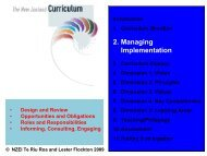 2. Managing Implementation - The New Zealand Educational Institute