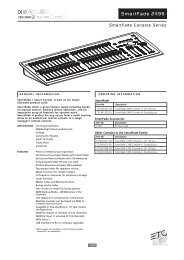 SmartFade 2496 Datasheet - GB - ETC