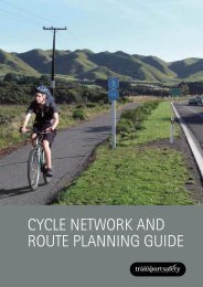 Cycle network and route planning guide - NZ Transport Agency