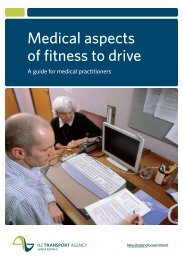 Medical aspects of fitness to drive a guide for medical practitioners