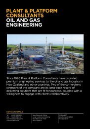 PLANT & PLATFORM CONsULTANTs OIL AND GAs ENGINEERING