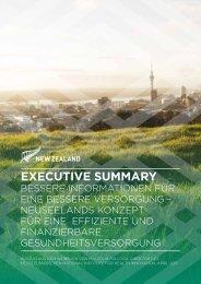 executive summary - New Zealand Trade and Enterprise