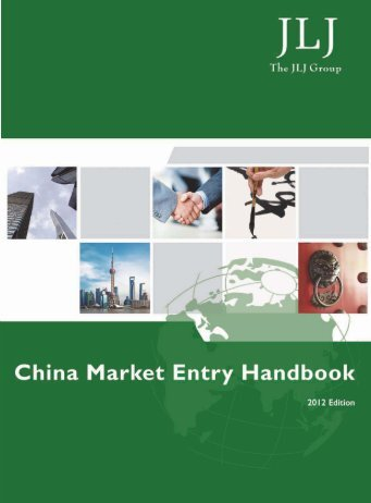 China market entry handbook - New Zealand Trade and Enterprise