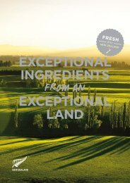 Read more in our buyer's guide to New Zealand food and beverage