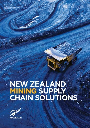 new zealand mining supply chain solutions - New Zealand Trade ...