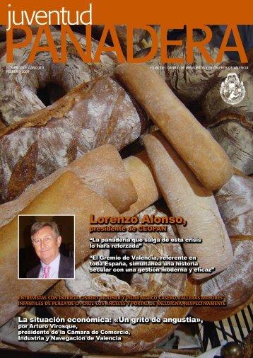 Lorenzo Alonso, - El Gremio de panaderos y pasteleros de Valencia