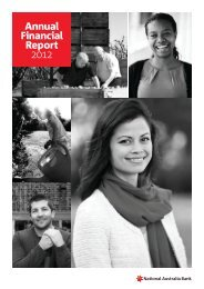 Annual Financial Report 2012 - Capital and Funding - NAB