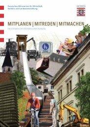 PDF: Mitplanen | Mitreden | Mitmachen - HA Hessen Agentur GmbH