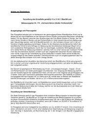Anlage zur Begründung Vorprüfung des Einzelfalls gemäß ... - O-sp.de