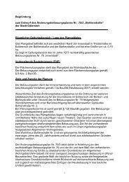 Begründung zum Entwurf des ... - O-sp.de