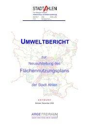 UMWELTBERICHT - O-sp.de