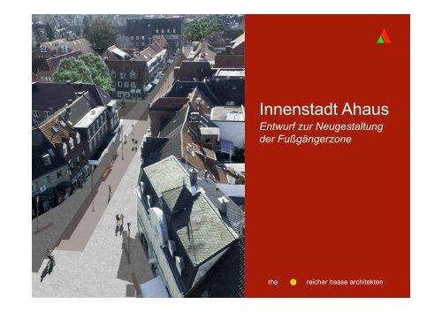 Planung zur Umgestaltung der Fußgängerzone - O-sp.de