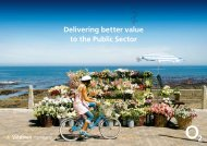 Delivering better value to the Public Sector - O2