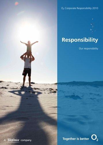 Responsibility - O2 Ireland