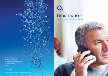 Group worker End User Guide - O2 Ireland