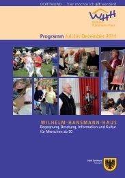 Programm Juli bis Dezember 2011 - Dortmund.de