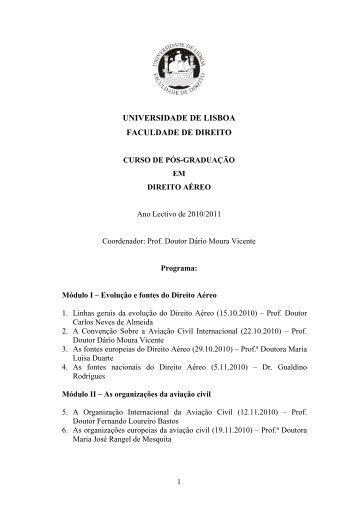 Programa - Ordem dos Advogados