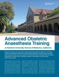 Advanced Obstetric Anaesthesia Training - The Obstetric ...