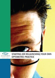 starting (or relaunching) your own optometric practice - Optometrists ...