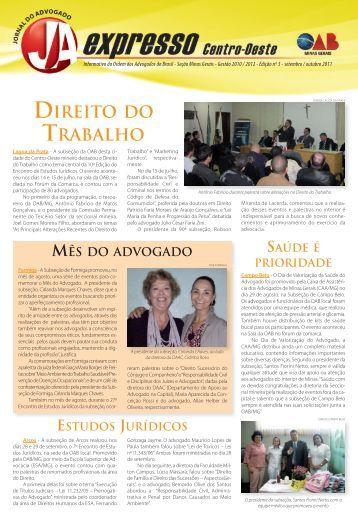 Centro Oeste - Ordem dos Advogados do Brasil