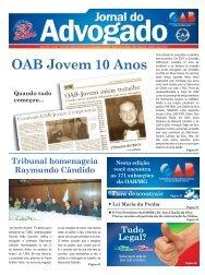OAB Jovem 10 Anos - OAB/MG