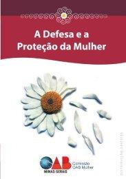 Cartilha: A Defesa e a Proteção da Mulher - OAB/MG