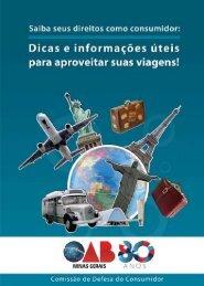 Dicas e informações úteis para aproveitar suas viagens - OAB/MG