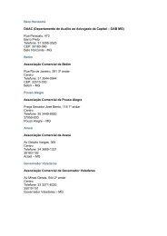 Belo Horizonte DAAC (Departamento de Auxílio ao ... - OAB/MG