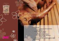 World Wide Wellness konzepte - Dobi-Inter AG