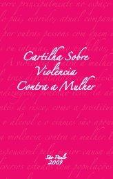 Cartilha Sobre Violência Contra a Mulher - 2009 - OAB-SP