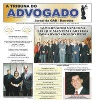 Jornal 16º Edição-->Clique aqui - OAB-SP
