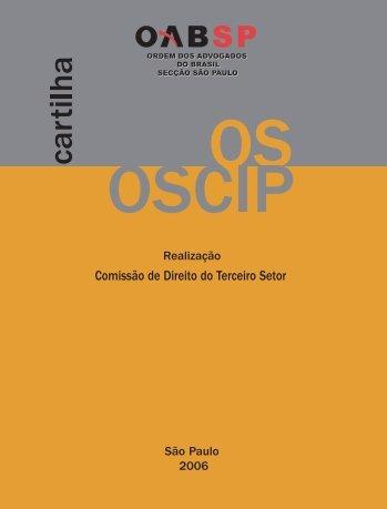 OS e OSCIP - OAB-SP