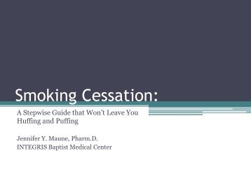08-Maune-Smoking Cessation presentation.pdf - Oacns.org